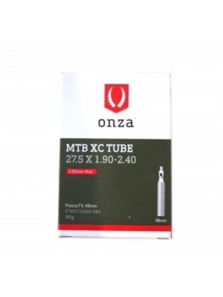 Камера ONZA 27,5х1,9-2,40 французский клапан(PRESTA) Швейцария