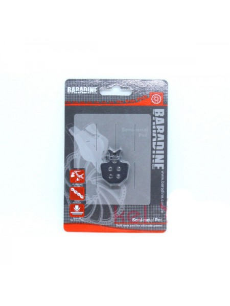 Колодки под дисковый тормоз Baradine DS-31+SP-31.Тайвань