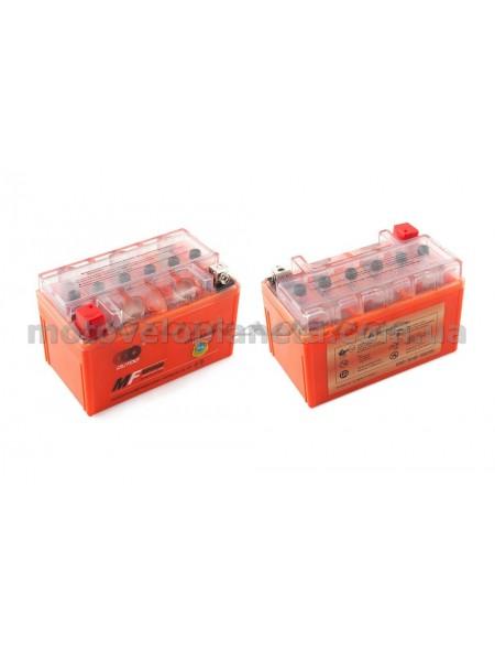 АКБ   12V 7А   гелевый   (150x85x95, оранжевый, mod:UTX7A-BS)   OUTDO, шт