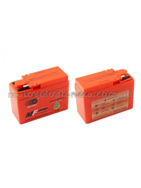 АКБ   12V 2,3А   гелевый, Honda   (115x49x86, оранжевый, mod:YTR4A-BS)   OUTDO, шт
