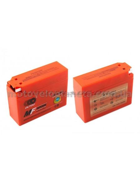 АКБ   12V 2,3А   гелевый, Suzuki   (113x39x89, оранжевый, mod:YT4B-5)   OUTDO, шт