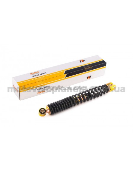 Амортизатор   GY6, DIO ZX   310mm, стандартные   (черные)   MANLE, шт