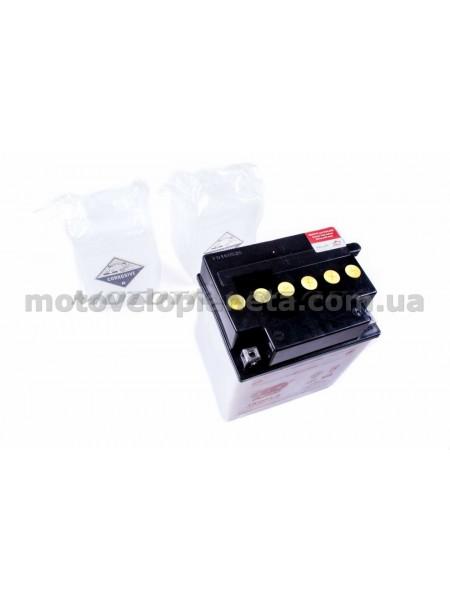 АКБ   12V 30А   кислотный   (168x132x192, белый, mod:YB 30CL-B)   OUTDO, шт