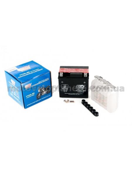 АКБ   12V 4А   заливной   (119x60x128, черный, mod:UTX  5L-BS) (+электролит)   OUTDO, шт