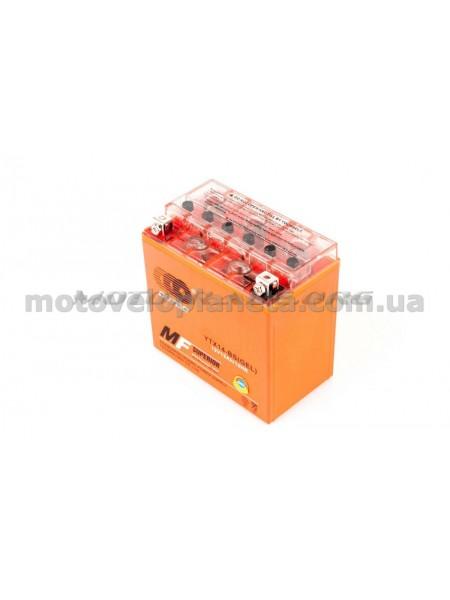 АКБ   12V 12А   гелевый   (150.6x87.5x146.4, оранжевый, mod:UTX 14-BS)   OUTDO, шт