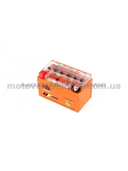АКБ   12V 8,6А   гелевый   (150x85.8x93.6, оранжевый, mod:YTZ 10S)   OUTDO, шт