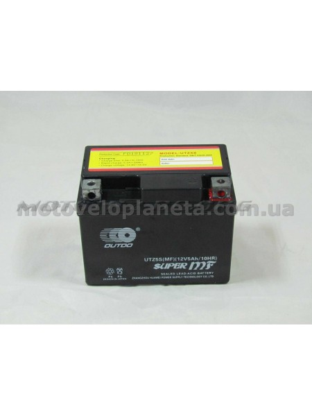 АКБ   12V 5А   пастовый   (черный)   MF (UTZ5S, 115x86x70)   DELTA 110/125   (Japan Tech)   ZV, шт
