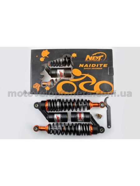 Амортизаторы (пара)   Delta   330mm, газомасляные   (черные перламутровые)   NDT, пара
