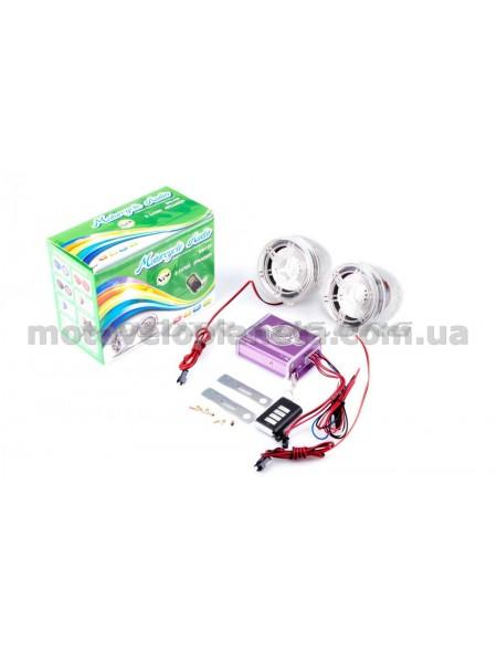Аудиосистема   (3, с диодами, сигн., МР3/FM/MicroSD, ПДУ, разъем ППДУ 3.5mm)   mod:938, шт