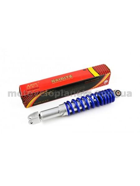 Амортизатор   GY6   340mm, регулируемый   (синий металлик)   NDT, шт