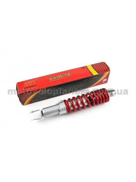 Амортизатор   AD100, AXIS, BWS, JOG90   300mm, регулируемый   (красный металлик)   NDT, шт