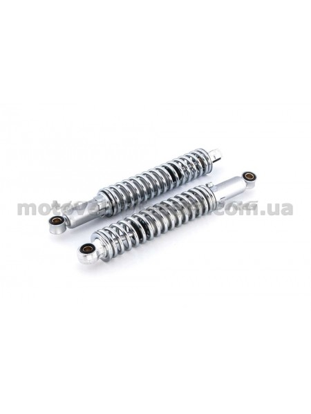 Амортизаторы (пара)   МИНСК   340mm, регулируемые    (хром)   RUIKAI, пара
