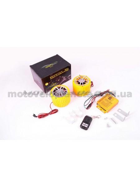 Аудиосистема   (2.5, желтые, сигнализация, FM/МР3 плеер, ПДУ)   CZMP3005-1, шт