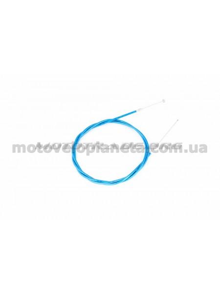 Трос тормоза   велосипедный   (L-1700mm) (синий)   DS, шт