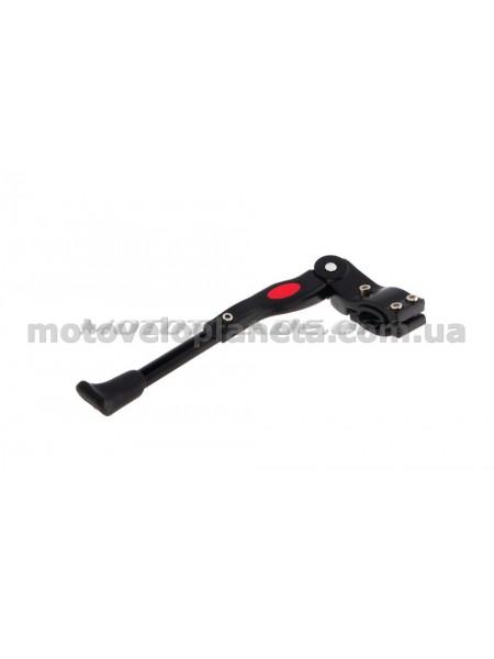 Подножка стояночная боковая велосипедная   (черная)   DS, шт