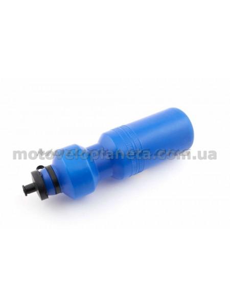 Велосипедная фляга (пластиковая, синяя) (700ml)   YKX, шт