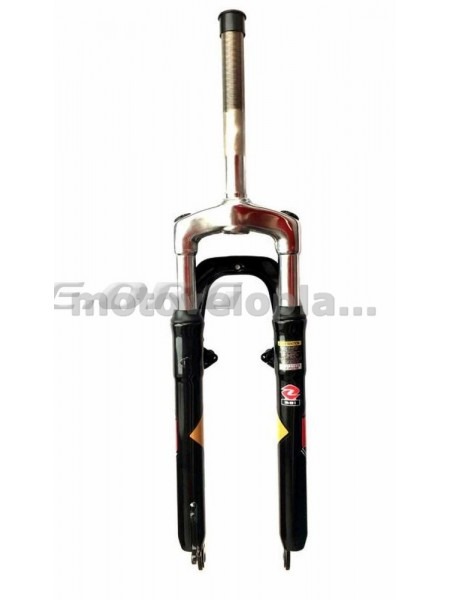 Вилка велосипедная амортизационная   (синяя, V-Brake)   (381)   (ZOOM)   KL, шт
