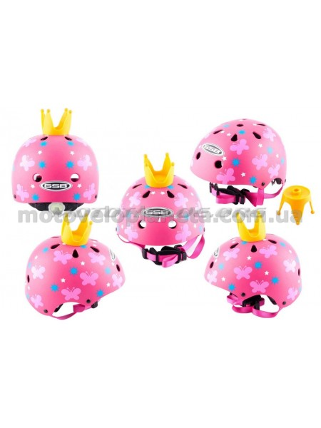 Шлем детский открытый   (розовый)   (PRINCESS)   GSB, шт