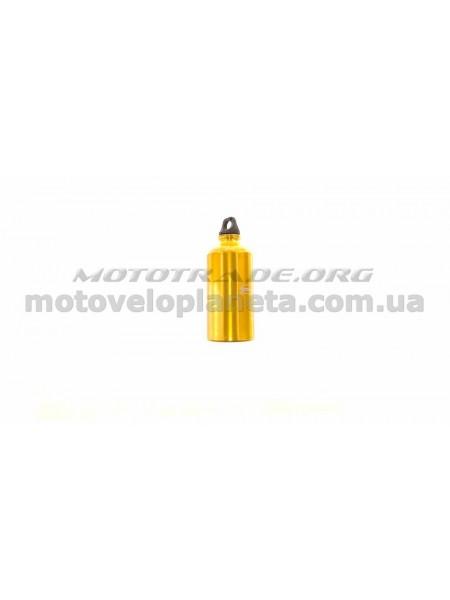 Велосипедная фляга (алюминиевая, желтая) (500ml)   YKX, шт