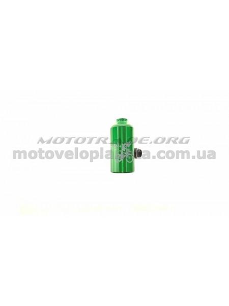 Велосипедная фляга (алюминиевая, зеленая) (500ml)   YKX, шт