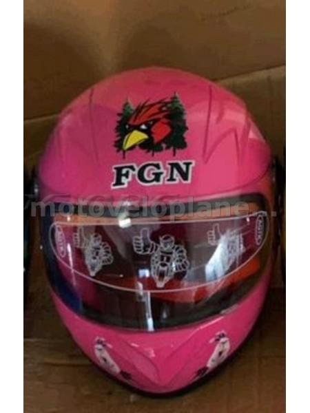 Шлем детский интеграл   (розовый)   (MULT)   FGN   (#VV), шт