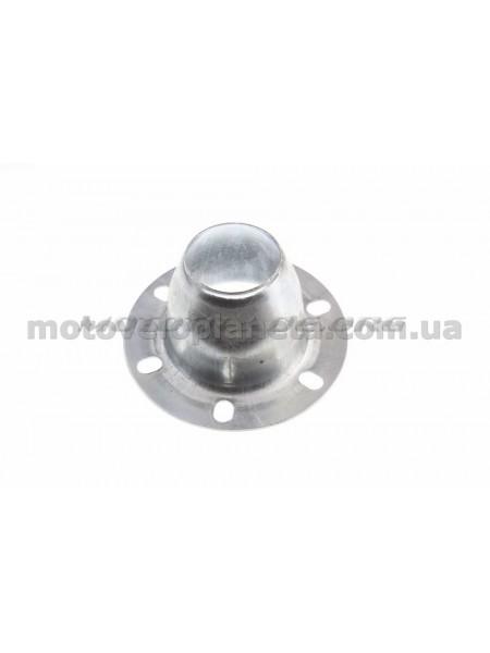 Адаптер колено/глушитель   4T GY6 50   (Ø100mm)   KOMATCU   (mod.A), шт
