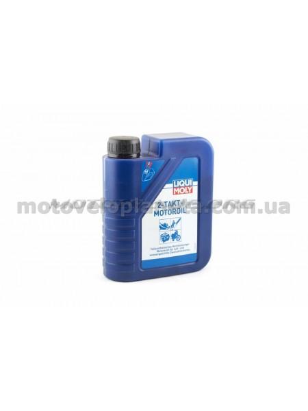 Масло   2T, 1л   (полусинтетика, MOTOR OIL)   LIQUI MOLY   #3958, шт