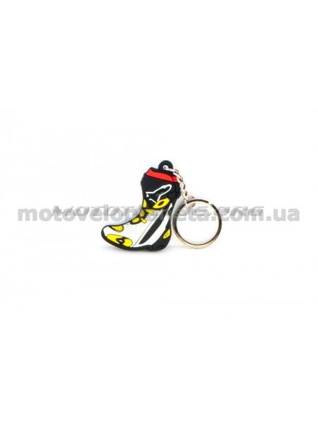 Брелок  MOTO BOOTS (4х4см), шт