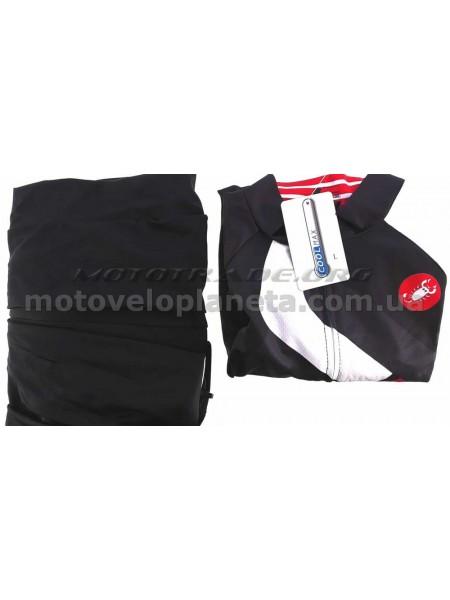 Велокостюм   (черно-красный, size:L), шт