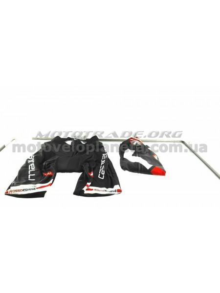Велокостюм   (черно-красный, size:XL), шт