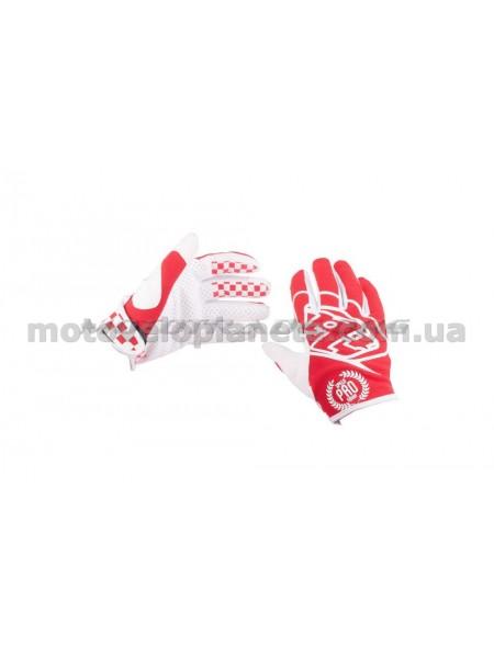 Перчатки   PRO   (size:M, красные)   TLD, пара