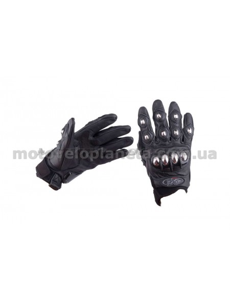 Перчатки   AXE RACING   (size:M, черные) (mod:2), пара