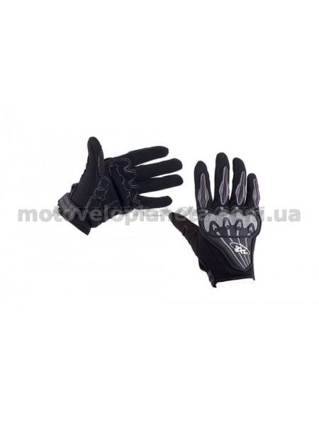 Перчатки   AXE RACING   (size:M, черные) (mod:3), пара