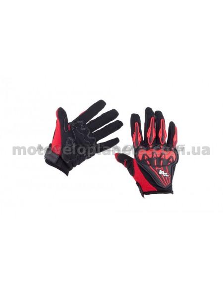 Перчатки   AXE RACING   (size:M, красные), пара