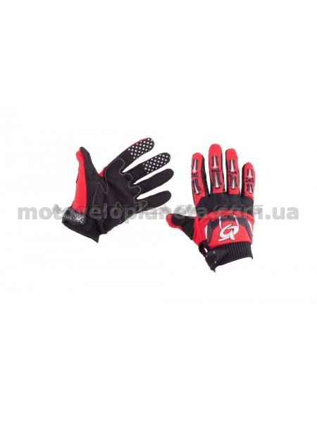 Перчатки   RG   (size:L, красно-черные), пара