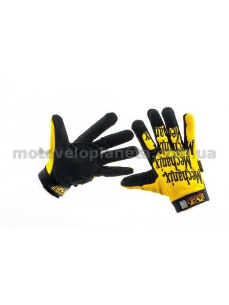 Перчатки   MECHANIX   (желто-черные size M), пара