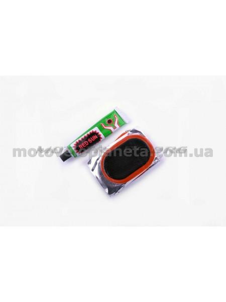Ремкомплект камеры   45*70   (12 латок, клей)   YAT, компл.
