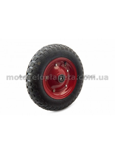 Колесо   3,50 -8   TT   (камерное, под ось d-20мм )   MRHD, шт