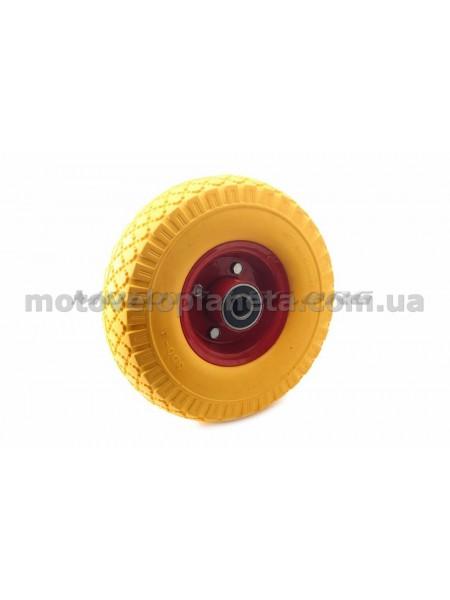 Колесо   3,00 -4   TL   (бескамерное, под ось d-20мм )   (желтое)   MRHD, шт