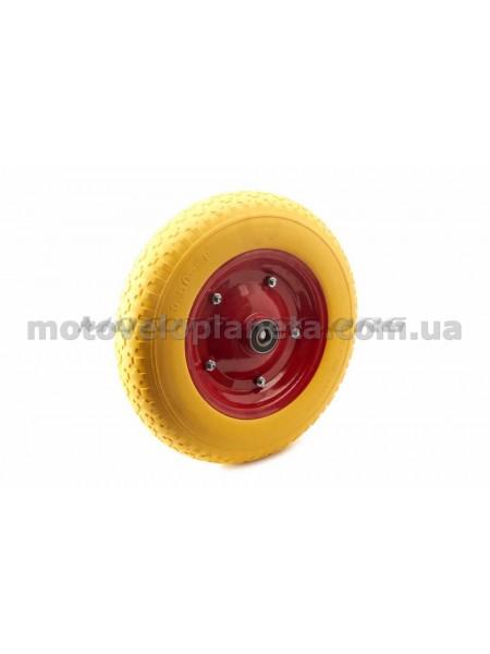 Колесо   3,50 -8   TL   (бескамерное, под ось d-20мм )   (желтое)   MRHD, шт