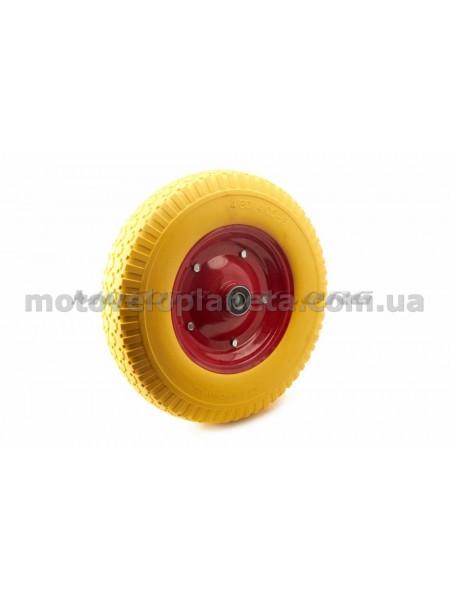 Колесо   4,00 -8   TL   (бескамерное, под ось d-20мм )   (желтое)   MRHD, шт