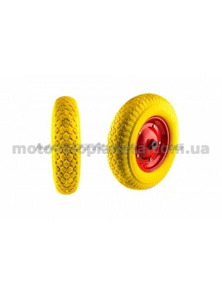 Колесо   4,80/4,00 -8   TT   (бескамерное, под ось d-16мм )   (желтое)   MRHD, шт