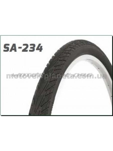 Велосипедная шина   26 * 1,75   (SA-234 Blue strip)   Delitire-Индонезия   (#LTK), шт