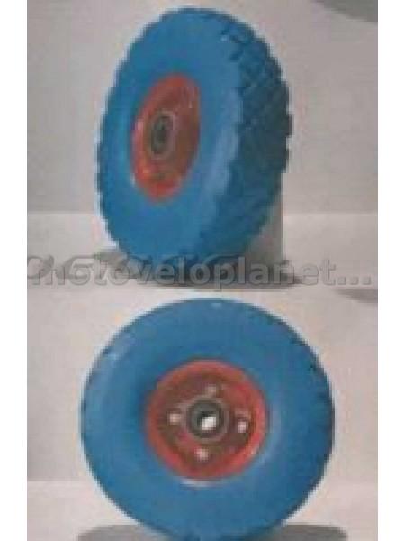 Колесо   4,10/3,50 -4   TL   (бескамерное, под ось d-20мм )   (синее)   MRHD, шт