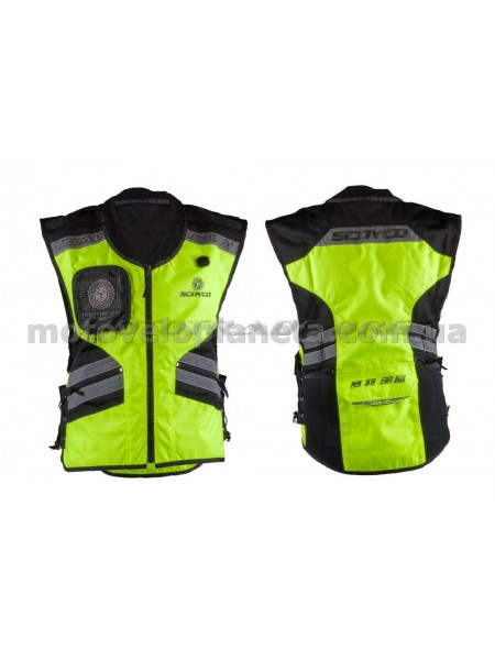 Защита жилет    (size:M, свето отражающий, mod:JK32)   SCOYCO, шт