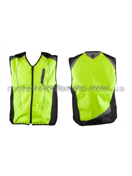 Защита жилет    (size:XL, свето отражающий, mod:JK)   SCOYCO, шт