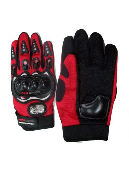 """Перчатки """"Pro-baiker"""" (под пальцы,с защитой) (#MD)"""