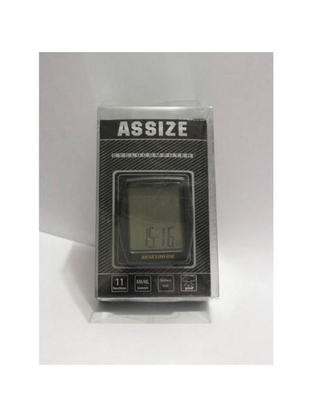 """Велокомпьютер проводной """"Assize"""" (11 режимов) (#MD),mod:AS-401"""