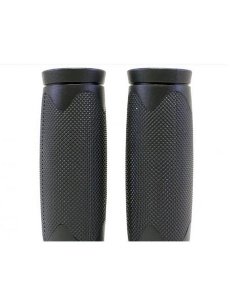 """Грипсы велосипедные """"AVANTI GR-37"""" (85mm) цвет:черный пара"""