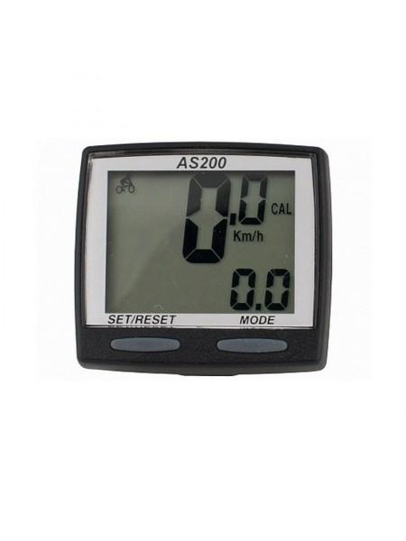 """Велокомпьютер проводной """"Assize"""" (11 режимов) (#MD),mod:AS-200"""